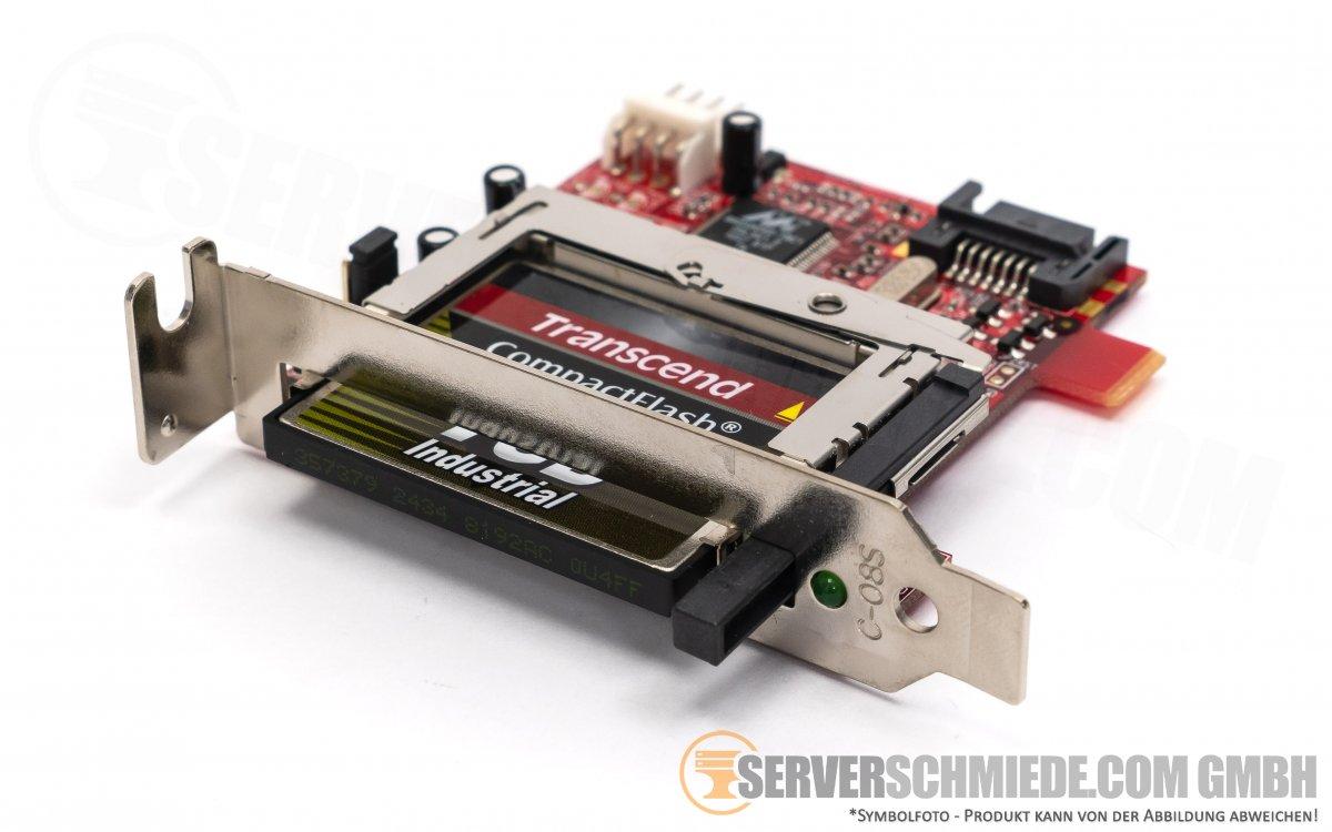 Compact Flash Karte.Addonics Adsacf 7ms Sata Cf Card Reader Adapter Inkl 1gb Cf Karte