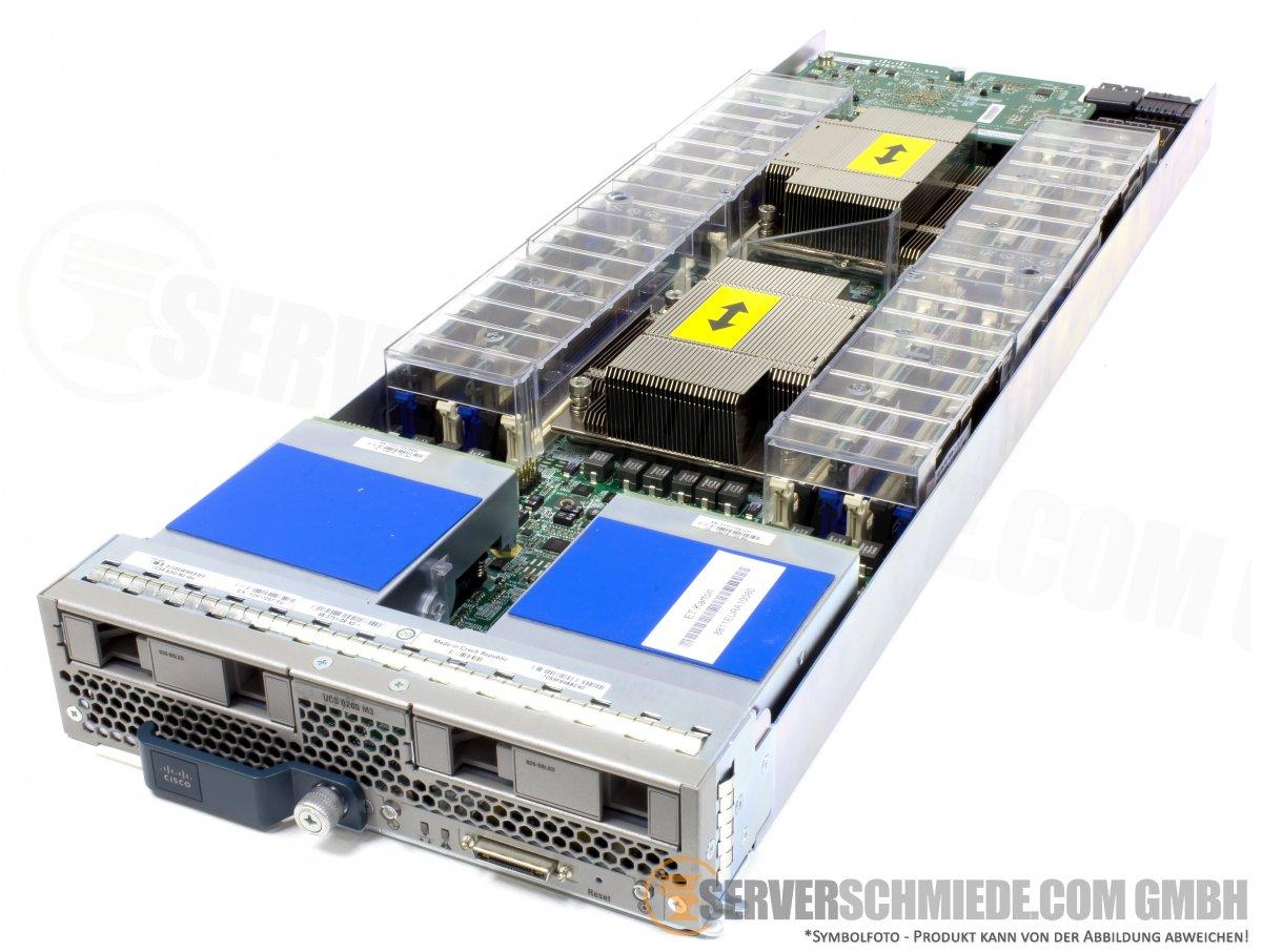Cisco UCS B200 M3 Blade Server 2x Intel Xeon E5-2600 v1 / v2