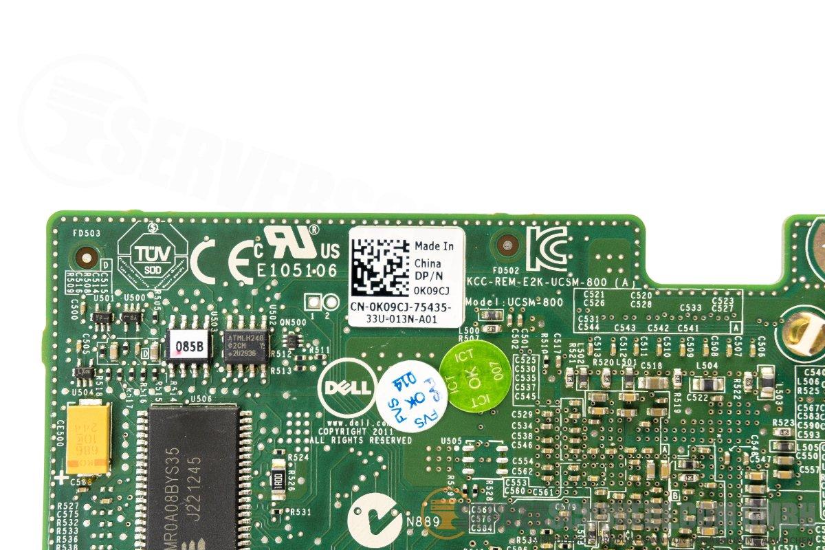 Dell 0K09CJ PERC H310 Mini Mono SAS RAID Controller R620