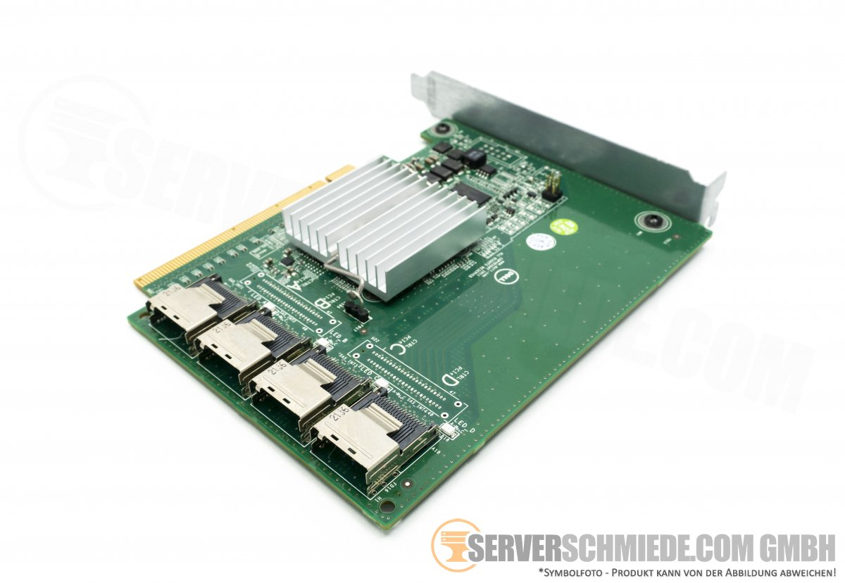 Dell Poweredge R720 R820 SSD PCIe x16 Expansions Card 4-PORT