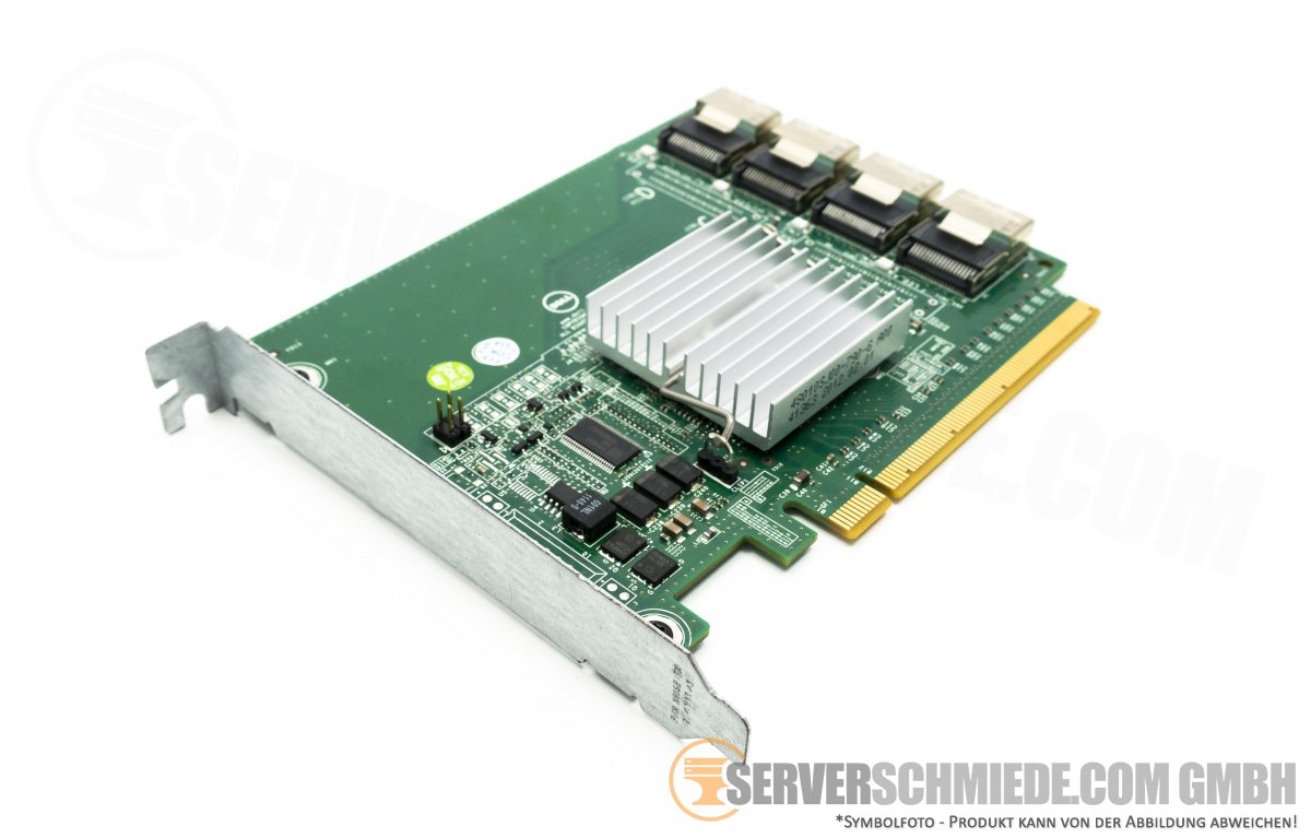 Dell Poweredge R720 R820 SSD PCIe x16 Expansions Card 4-PORT SFF