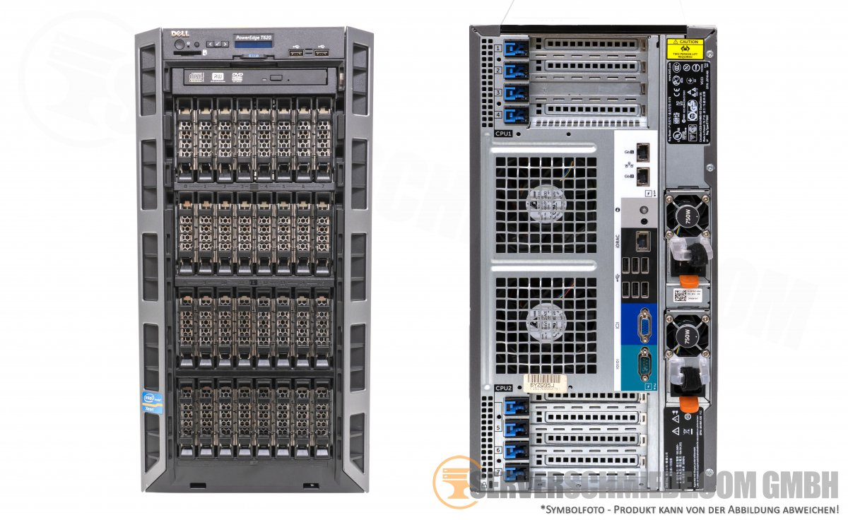 Dell PowerEdge T620 32x 2,5