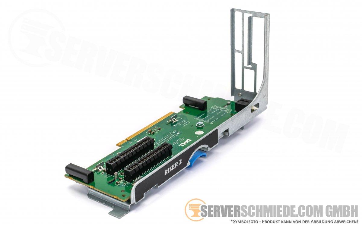 Dell R710 PCI Express Riser Board With Riser Bracket 0MX843 DM336