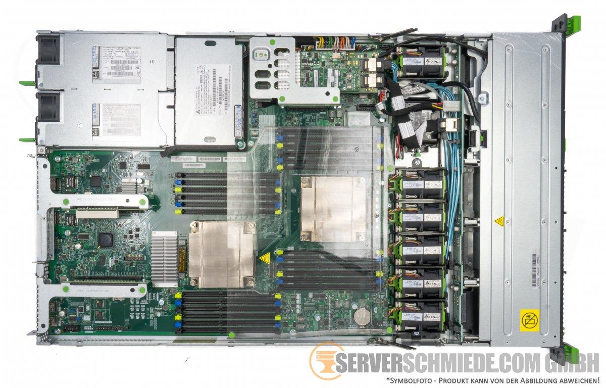 Fujitsu Primergy Rx200 S8 19 Quot 1u Server 8x 2 5 Quot Sff 2x