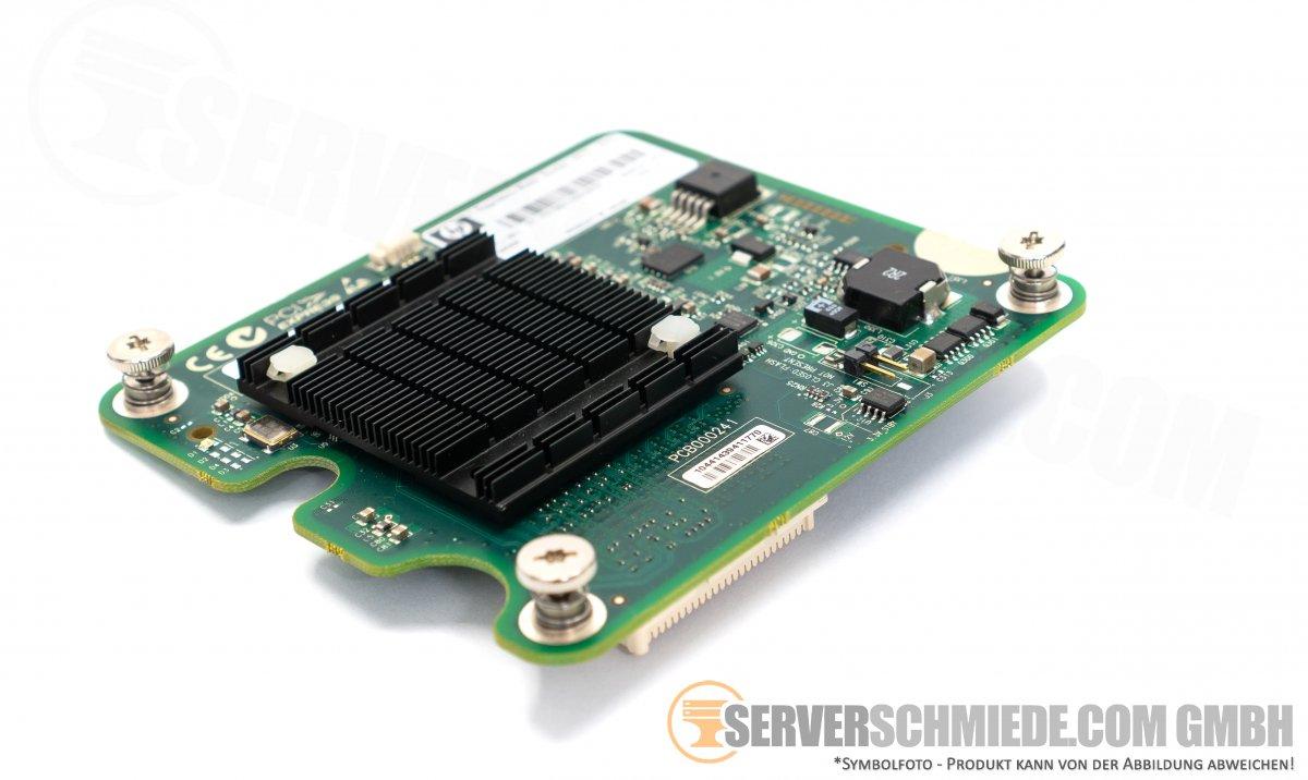 HP 2x 40Gb Dual Port 40 Gigabit QDR IB Infiniband Mezzanine
