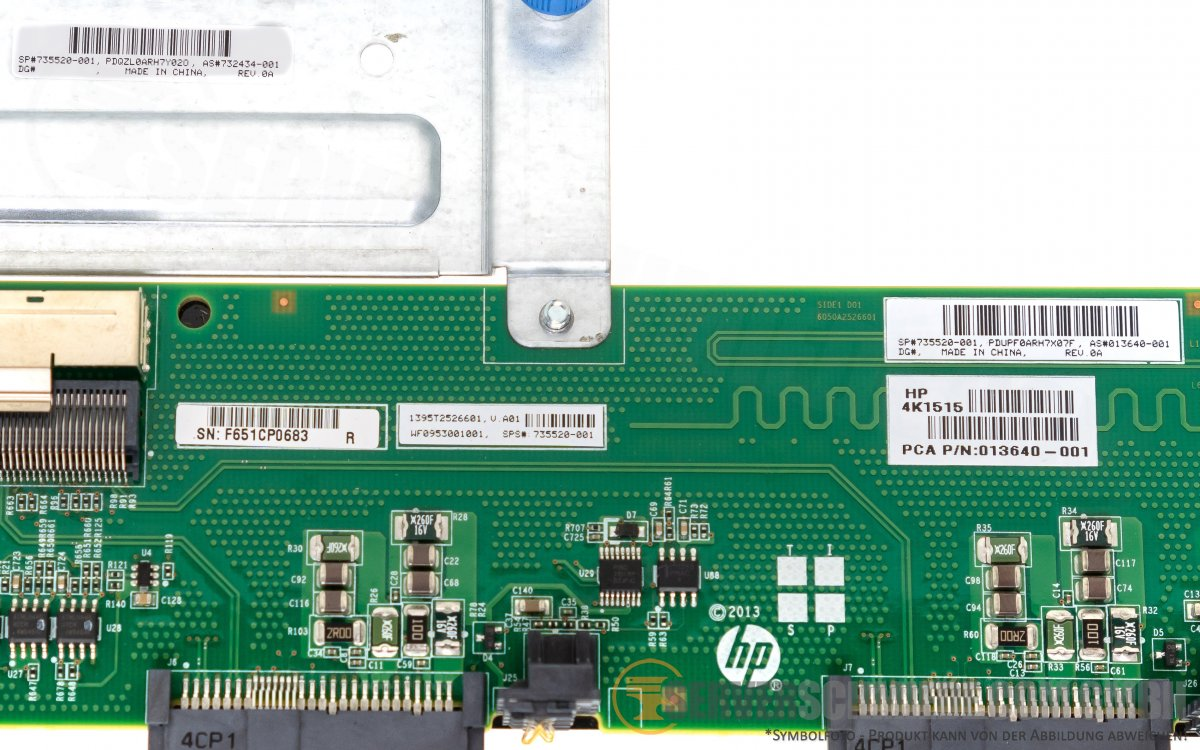 HP DL580 2,5
