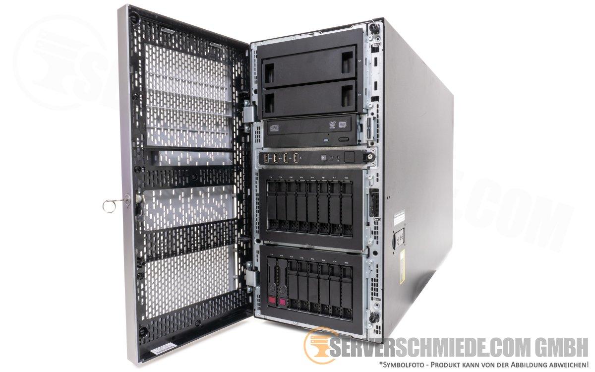 HP ML350p Gen8 Server 16x 2,5