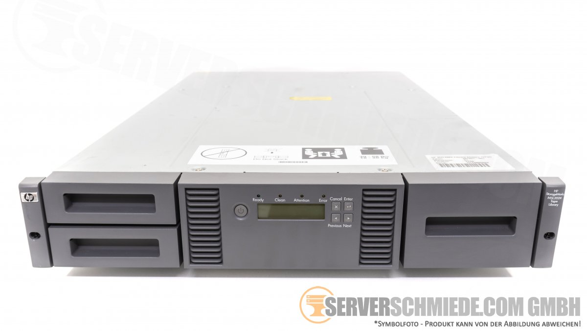 Hp Msl2024 Library Chassis 407351 001 Serverschmiede Com