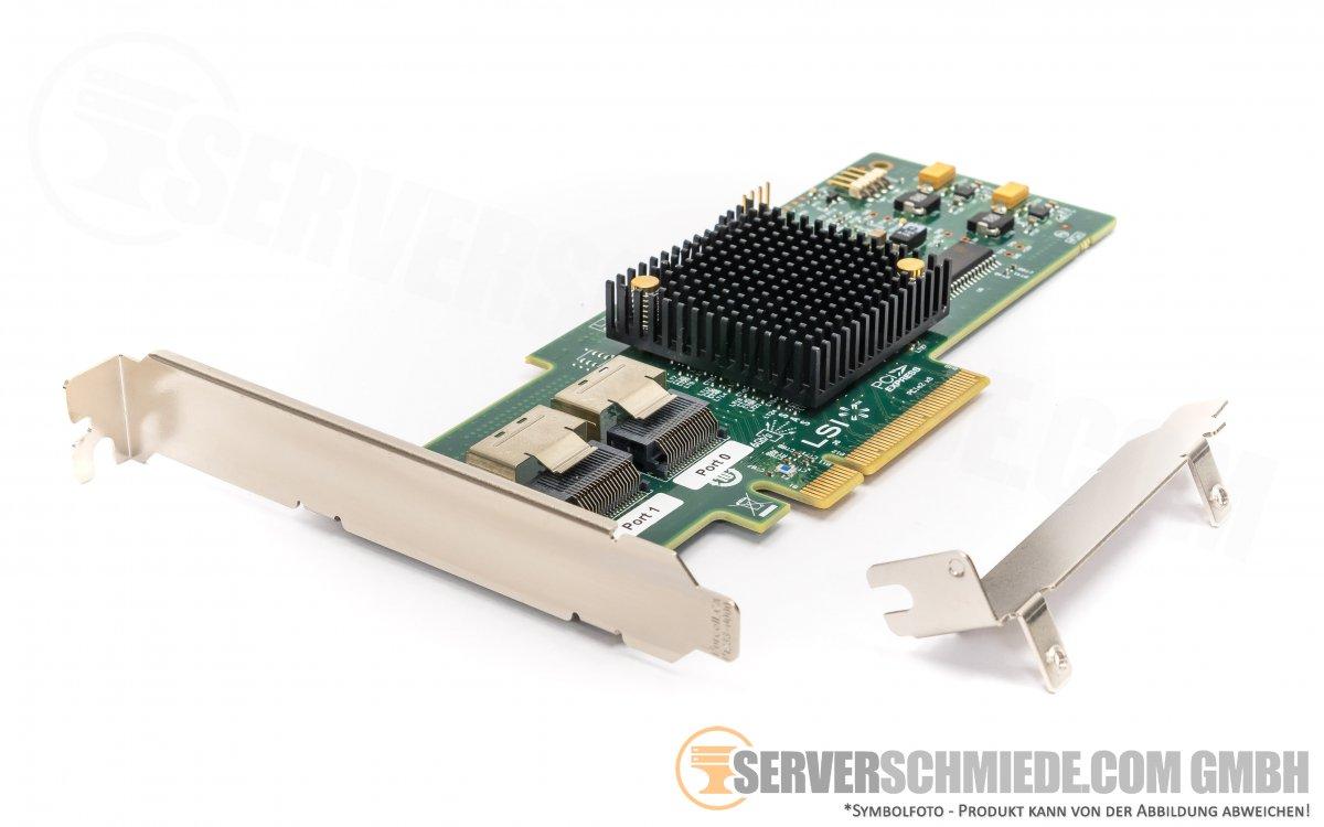 IBM LSI SAS9200-8i 9200-8i PCIe x8 2x SFF-8088 6G SAS S-ATA