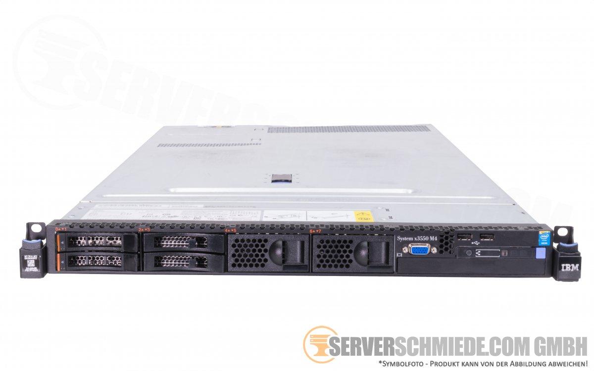 Ibm System X3550 M4 19 1u Server 4x 2 5 Sff 2x Intel Xeon E5 2600 V1 V2 Ddr3 Ecc Raid 2x Psu Cto Serverschmiede Com Gmbh