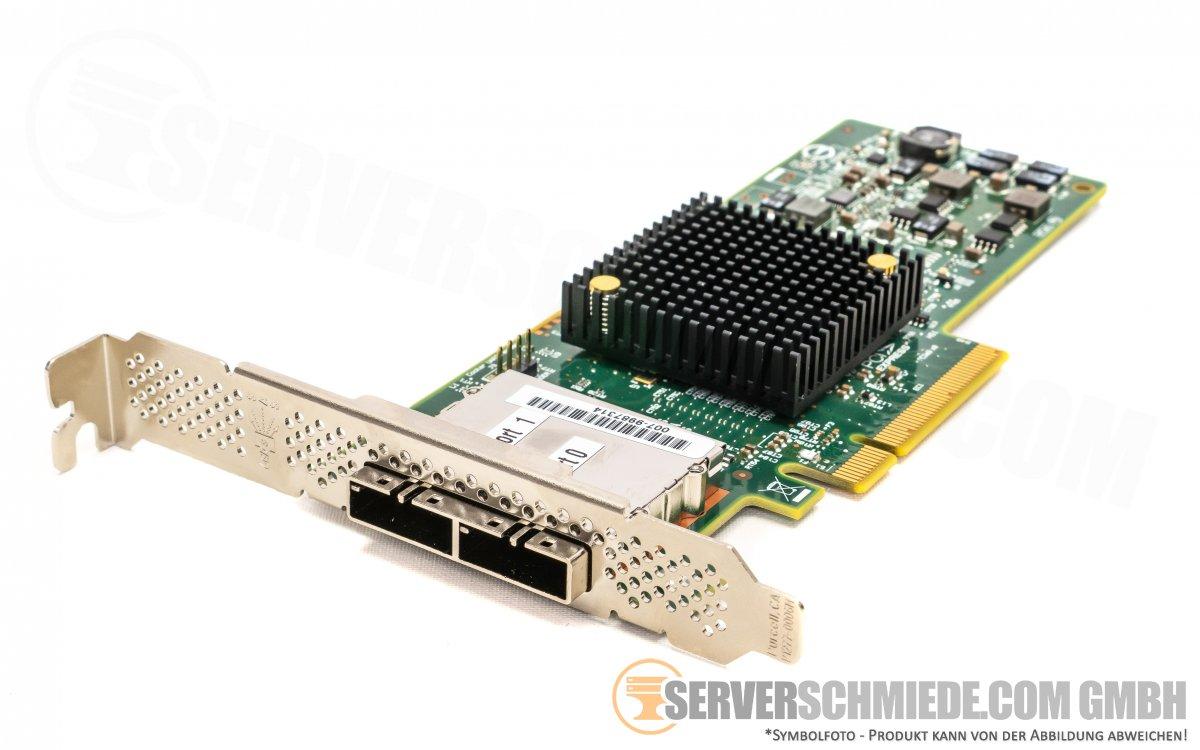 LSI SAS 9207-8e SAS2308 PCIe x8 3 0 2x SFF-8088 6G SAS S-ATA HBA