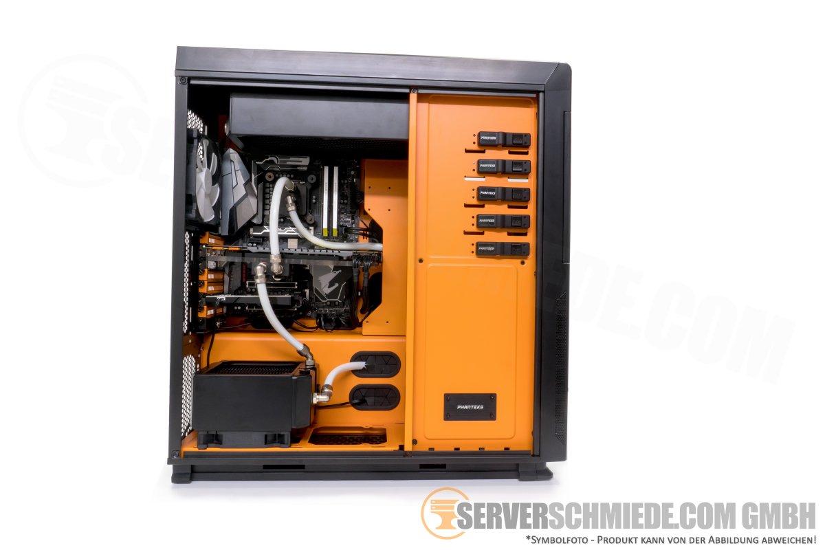 PC Workstation Gaming Komplettsystem mit Wasserkühlung Intel i7
