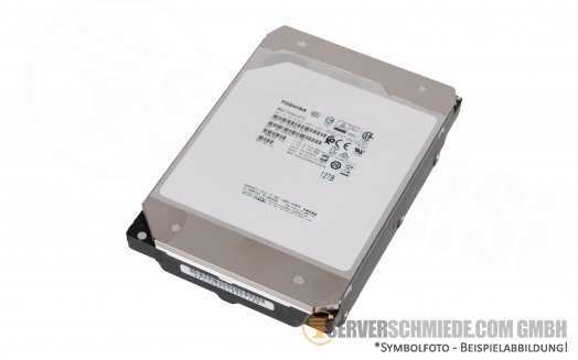 "12TB 7,2k 3,5"" LFF Toshiba Enterprise Capacity MG07SCA12TE SAS 12G 512e Raid 24/7 HDD +NEW+"
