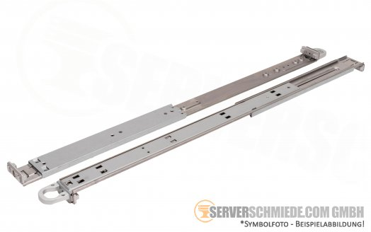 "19"" 1U Supermicro CSE-118 815 813 818 819U Rack Rail Kit Rackschienen MCP-290-00054-0N"