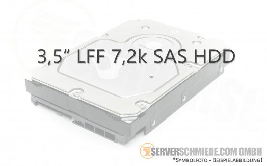 "2TB 7,2k 3,5"" LFF SAS 6G HDD HGST HUS724020ALS641 0B26928 Server Enterprise Datacenter 24/7"