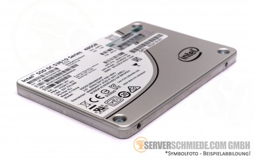 "480GB 2,5"" HP 832414-B21 Intel DC S3610 Datacenter Enterprise 24/7 Raid SATA SSD 3700TBW +NEW+"