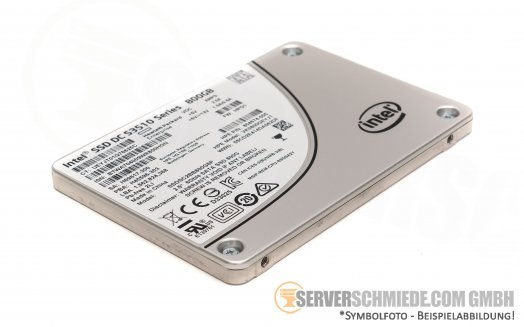 "800GB 2,5"" Intel Datacenter Enterprise 24/7 Industrial SSD DC S3510 ++NEW 0 hours++"