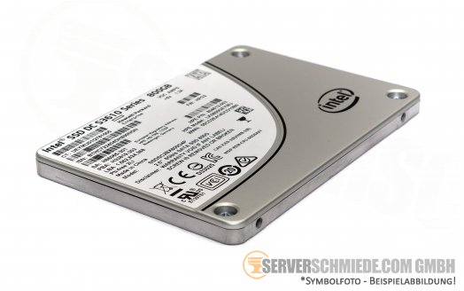 "800GB 2,5"" Intel HP Datacenter Enterprise 24/7 Industrial Raid SSD DC S3610 5300TBW High Endurance ++NEW++"