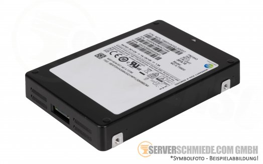 "960GB 2,5"" Samsung PM1643 Datacenter Enterprise 24/7 Raid 12G SAS SSD 350K IOPS ++NEW++"