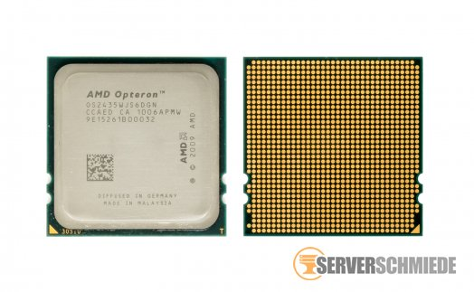 AMD Opteron OS2435 OS2435WJS6DGN 6-Core Server CPU 6x 2.60 GHz Socket Fr6(1207)