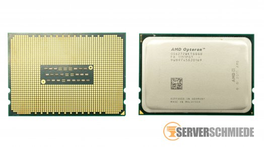 AMD Opteron OS6272 6.4 GT/s 16-Core Server CPU 16x 2.10 GHz Socket G34