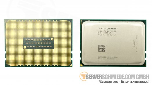 AMD Opteron OS6272 16C Server CPU 16x 2.10 GHz Socket G34