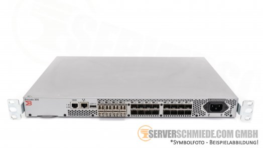 Brocade 300 24-Port 8GB Fibre Channel Switch 16 Port aktiv DL-320-0003 300