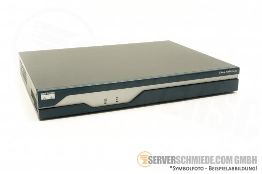 Cisco 1800 Series Router 1841 V05 incl. CF 32GB Flash modules