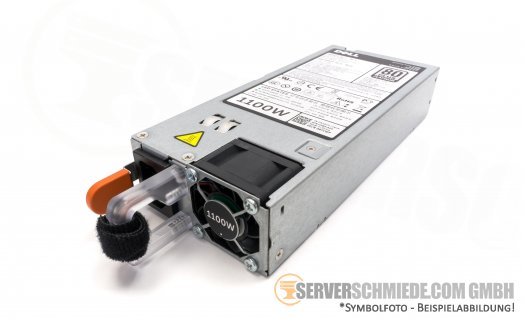 DELL 1100 Watt Netzteil Hot Swap Power Supply - PowerEdge R520 R620 R720 R720xd R820 T420 T620 - 0NTCWP