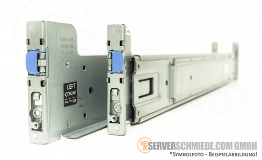"Dell MD1200 / MD3200 19"" Rackschienen Rail 0JRJ9P 07WJ8N"