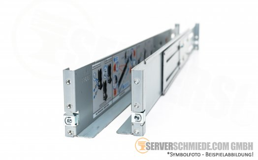 "Dell3u 4u TL200 19"" Rackschienen Rails Power Vault  0093190-07A"