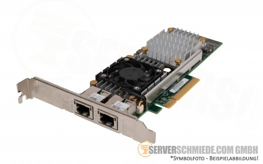 Dell 2x 10GbE Dual Port 10 Gigabit RJ-45 PCIe x8 Converged Network Controller Broadcom 57810S 0W1GCR