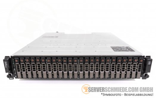 "Dell Chassis PowerVault MD1220 24x 2,5"" SFF SAS 6GB/s Direct Attached Storage 03DJRJ"