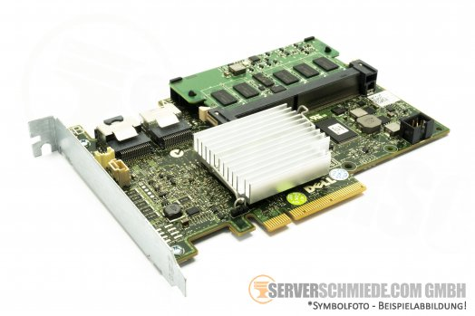 Dell PERC H700 512MB 8 Port 6G SAS/S-ATA PowerEdge RAID Controller(Adapter) PCIe x8 0W56W0 Raid: 0, 1, 5, 6, 10, 50, 60 bis 10TB HDD
