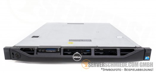 "Dell PowerEdge R410 19"" 1U 4x 3,5"" LFF 2x Intel XEON 5500 5600 PERC SAS SATA Raid 2x PSU -CTO-"