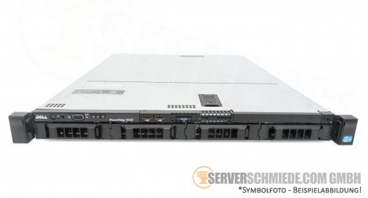 "Dell PowerEdge R420 19"" 1U 4x 3,5"" LFF 2x XEON E5-2400 v1 / v2 PERC SAS SATA Raid HotSwap PSU vmware Storage Server -CTO-"
