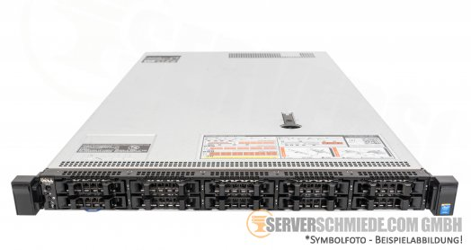 "Dell PowerEdge R630 19"" 1U Server 10x 2,5"" SFF 2x Intel XEON E5-2600 v3 v4 DDR4 ECC Raid 2x PSU - CTO -"