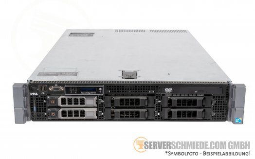 "Dell PowerEdge R710 19"" 2U 6x 3,5"" LFF 2x Intel XEON 5500 5600 DDR3 ECC Raid 2x PSU Server -CTO-"