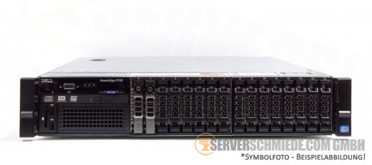 "Dell PowerEdge R720 19"" 2U 16x 2,5"" SFF 2x Intel XEON E5-2600 v1 v2 PERC SAS SATA Raid 2x PSU -CTO-"