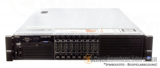 "Dell PowerEdge R720 19"" 2U 8x 2,5"" SFF 2x Intel XEON E5-2600 v1 v2 PERC SAS SATA Raid 2x PSU -CTO-"