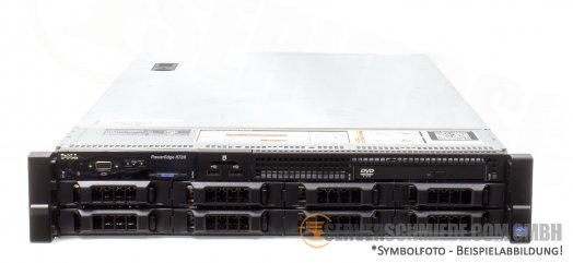 "Dell PowerEdge R720 19"" 2U 8x 3,5"" LFF 2x Intel XEON E5-2600 v1 v2 DDR3 ECC PERC SAS SATA Raid 2x PSU -CTO-"
