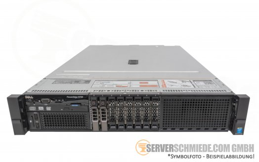 "Dell PowerEdge R730 19"" 2U 8x 2,5"" SFF 2x Intel XEON E5-2600 v3 v4 PERC SAS SATA Raid 2x PSU  -CTO-"