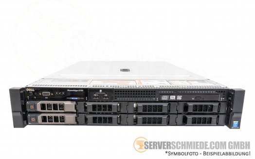 "Dell PowerEdge R730 19"" 2U 8x 3,5"" LFF 2x Intel XEON E5-2600 v3 v4 PERC SAS SATA Raid 2x PSU -CTO-"