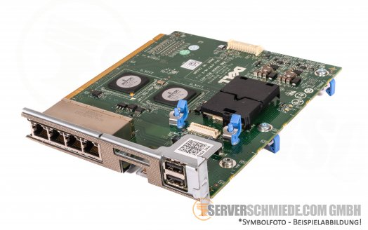 Dell PowerEdge R910 I/O Expansion Board 4x Ethernet 2x USB Ports 0FMY1T