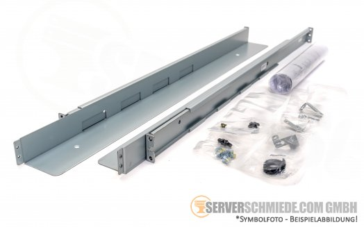 Dell PowerVault TL1000 Rackschienen Rack Rails 45E3740
