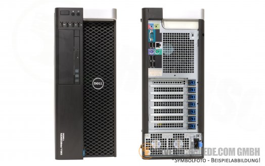 Dell Precision Workstation T3600 1x Intel XEON E5-2600 v1 / v2 fixed PSU -CTO-