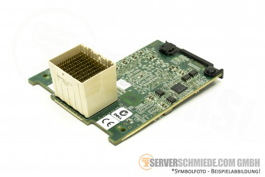 Dell QLogic QME2572 8Gb Dual Port Fibre Channel Blade M610 Mezzanine Card 0W7KT8 CU0310405