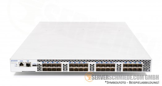 EMC Brocade 32 Port 24x 10GBE +  8x 8Gb FC Fibre Channel SAN Switch 8000 FCoE 32x Active Ports