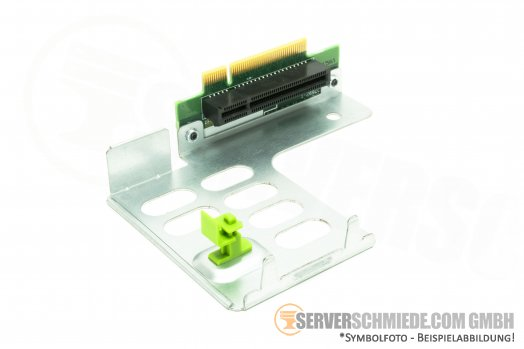 Fujitsu A3C40102646 Primergy RX200 S6 PCIe Riser Card and Bracket