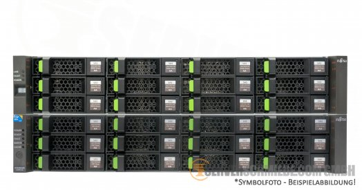 Fujitsu ETERNUS 48TB SAN Storage DX90 S2 + 1x DX80 Disk Expansion 24x 2TB LFF SAS HDD FC 8Gb Fibre Channel